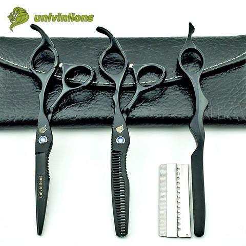 "6"" Hair Cut Hairdressing Scissors Thinning Clipper Hair Cut Kit"