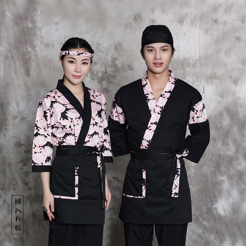Japanese Restaurant Sushi Chef Uniform