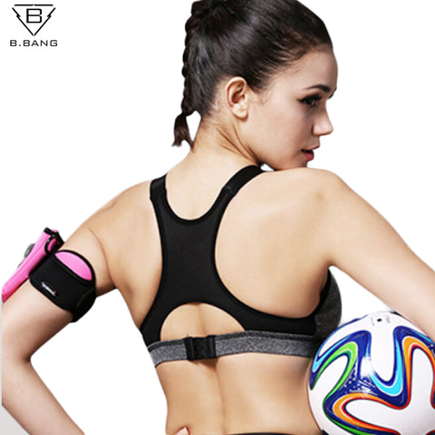 Women Sports Bra for Running Gym Fitness Athletic Yoga Padded Push Up Tank Tops S-XL