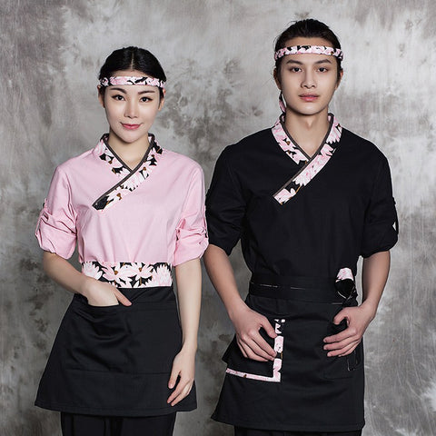 Japanese Restaurant Chef Uniforms