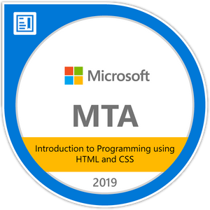 MTA - Introduction to Programming Using HTML and CSS (Online Course)