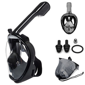 SeaMask Snorkel With Go Pro Mount