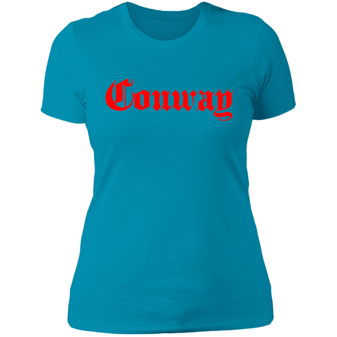 Conway 'Fire Red  Womens Graphic Tee