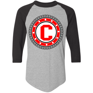 Crimson Raglan T-Shirt