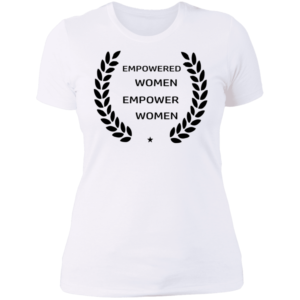 Empowered Cotton/Poly Womens Graphic Tee