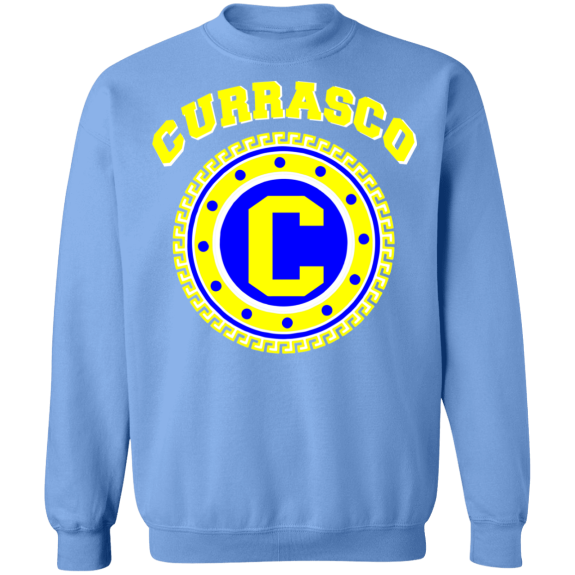 Royal Gold Crewneck Sweatshirt  8 oz.