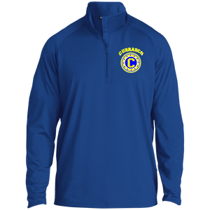 Royal Gold Raglan Performance Jacket