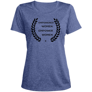 Empowered  Dri-Fit Womens Graphic Tee