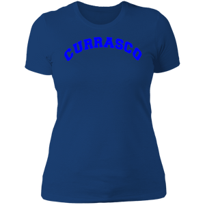 Womens Currasco Blue Tee