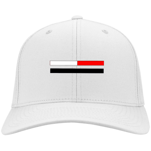 Red Stripe Twill Cap