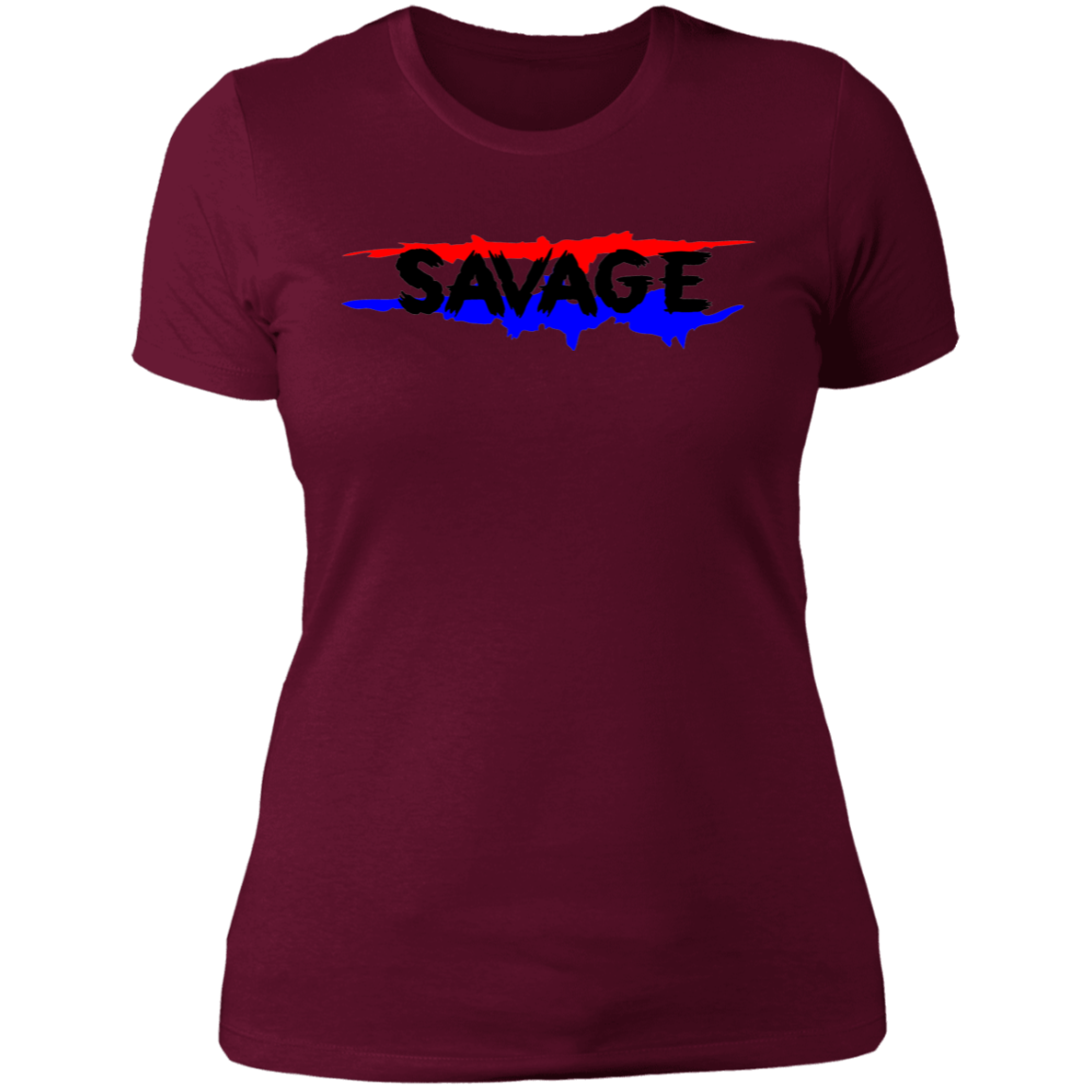 Savage A-Team Relaxed Womens Graphic Tee
