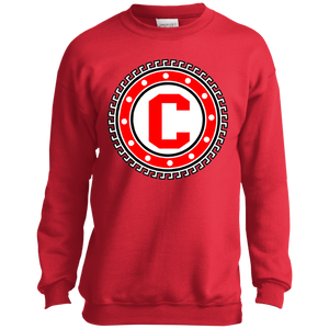 Crimson Crewneck Youth Shirt