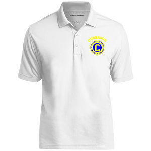 Royal Gold Micro-Mesh Mens Polo