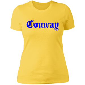 "Conway ""Blue Hundreds"" Womens Graphic Tee"