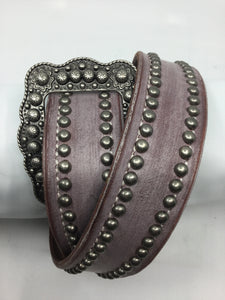 "1.5"" Women's Studded Belt"