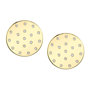 Diamond Dot Earrings