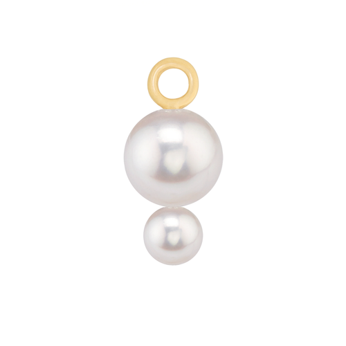 Double Pearl Charm