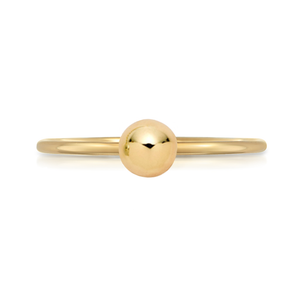 Gold Ball Ring