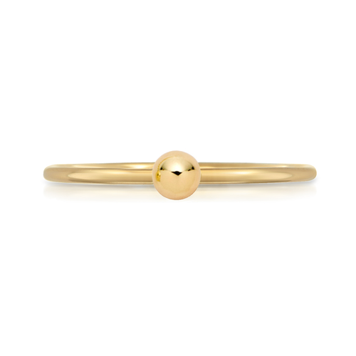 Mini Gold Ball Ring