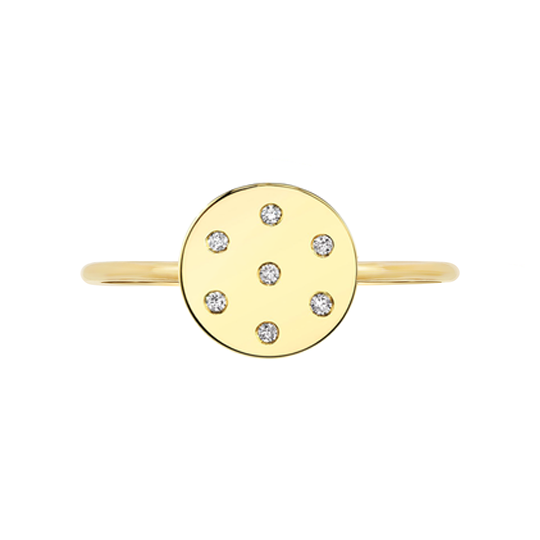 Diamond Dot Ring