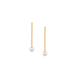 Small Pearl Drop Earrings