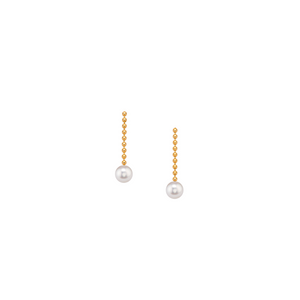 X-Small Pearl Drop Earrings