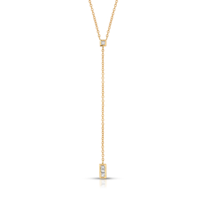 Diamond Princess Cut Lariat