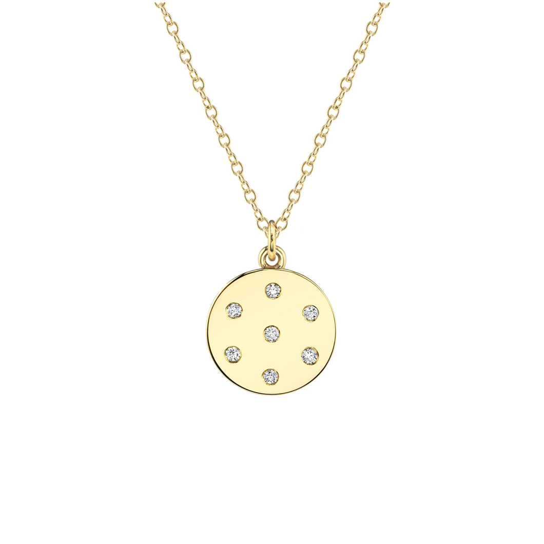 Small Diamond Dot Necklace