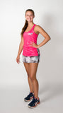 Ladies 'Pixel' Hot Pink Outfit