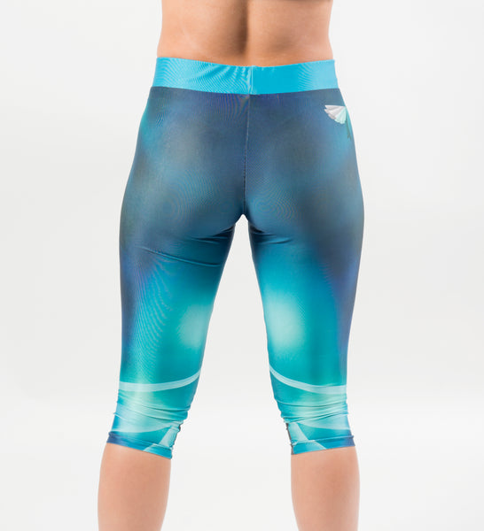 Ocean Landing 3/4 Leggings