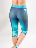 Ladies 'Ocean Landing' 3/4 Leggings