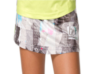 """Pixel Hot Green"" Skort 