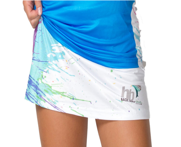 """Splosh in Electric Blue"" Skort 