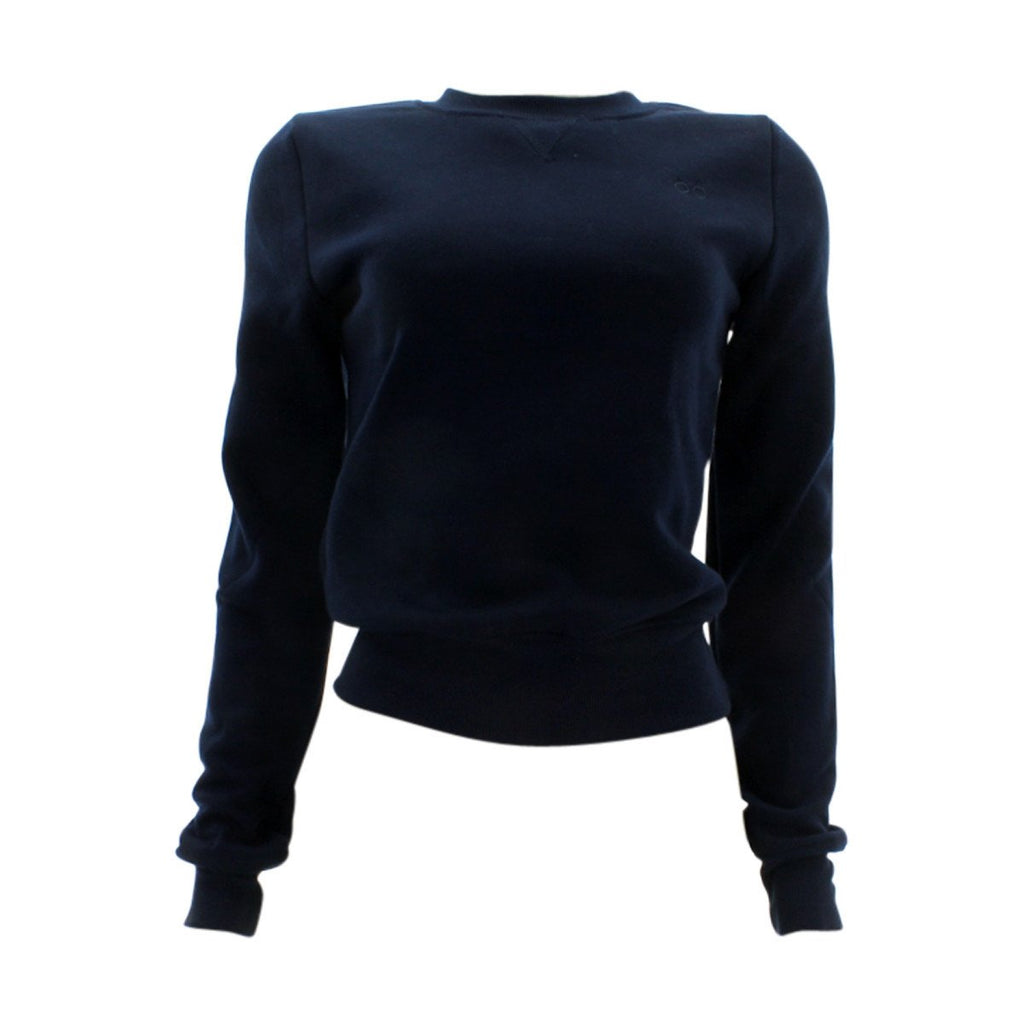 40985846a3e Floose - Women s Basic Crew Neck Sweatshirt - Navy - V.I.M. - 1