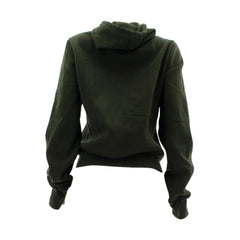 Floose Floose - Plus Size Basic Fleece Hoodie Sweatshirt - Olive - ShopVimVixen.com
