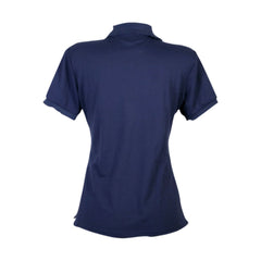 Daily Wear - Women's Short Sleeves Basic Bts Polo - Navy - V.I.M. - 2