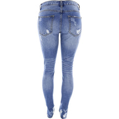 Destiny Apparel - Women's Rigis Rips Non Stretch Jeans - V.I.M. - 2