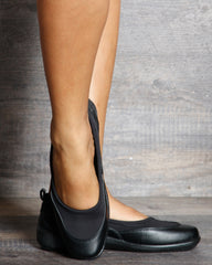 Cyndy Eslastic Comfort Shoe - Black