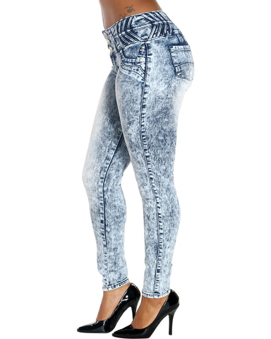 Three Button Columbia Jeans