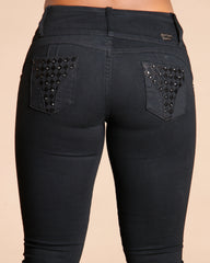 Maeve Three Button Colombian Jeans