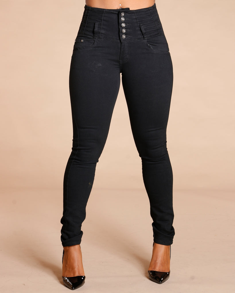 Misti Five Button Colombian Jeans