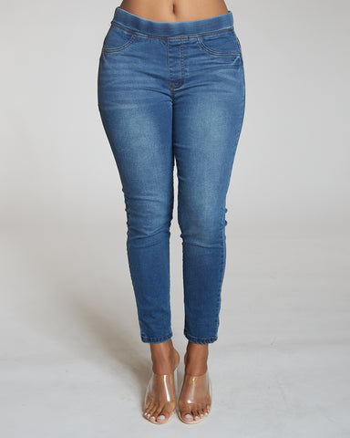 Dark Blue Colombian Jean