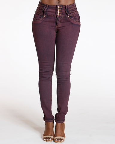 Four Button Colombian Jean