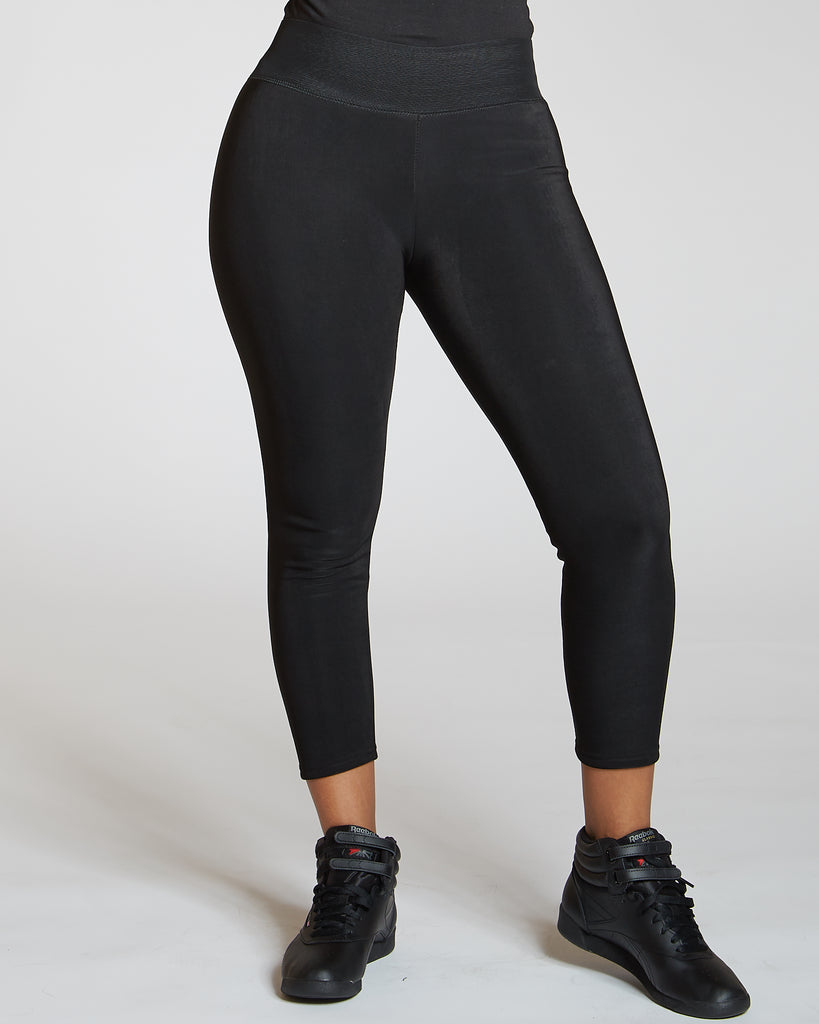 VIM VIXEN Fur Lined Techno Legging - ShopVimVixen.com