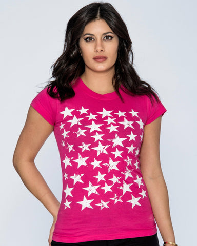 RIVKA STARS TEE (Available in 2 colors)