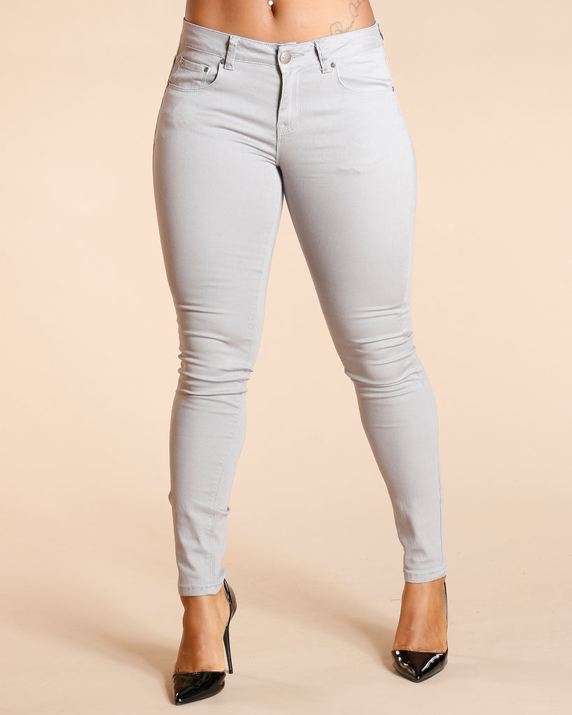 VIM VIXEN One Button Stretch Pants - ShopVimVixen.com