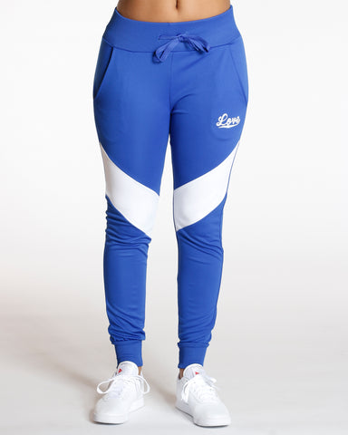 Royal Color Block Love Jogger
