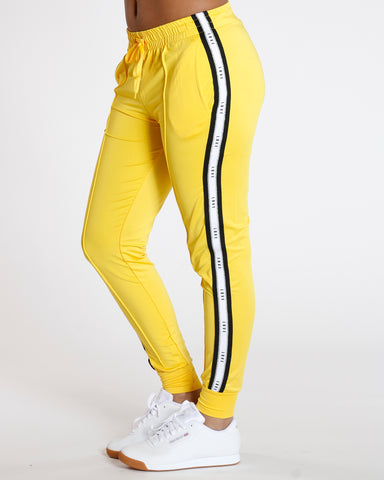 Yellow Yummy Side Trim Love Legging
