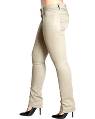 Back To School Twill Color Skinny Pants