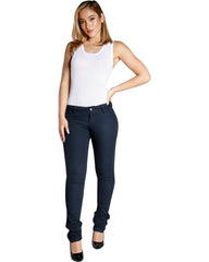 DICKIES Back To School Twill Skinny Pant - Navy - ShopVimVixen.com